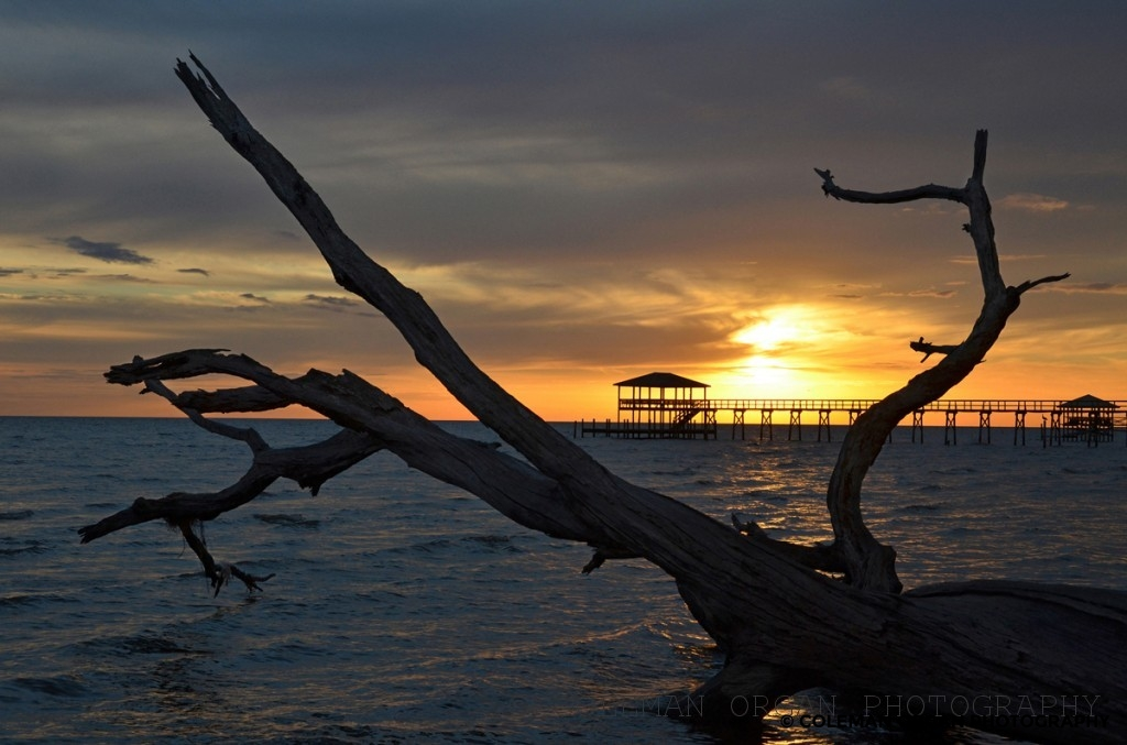 Mandeville Sunset Fishing Pier