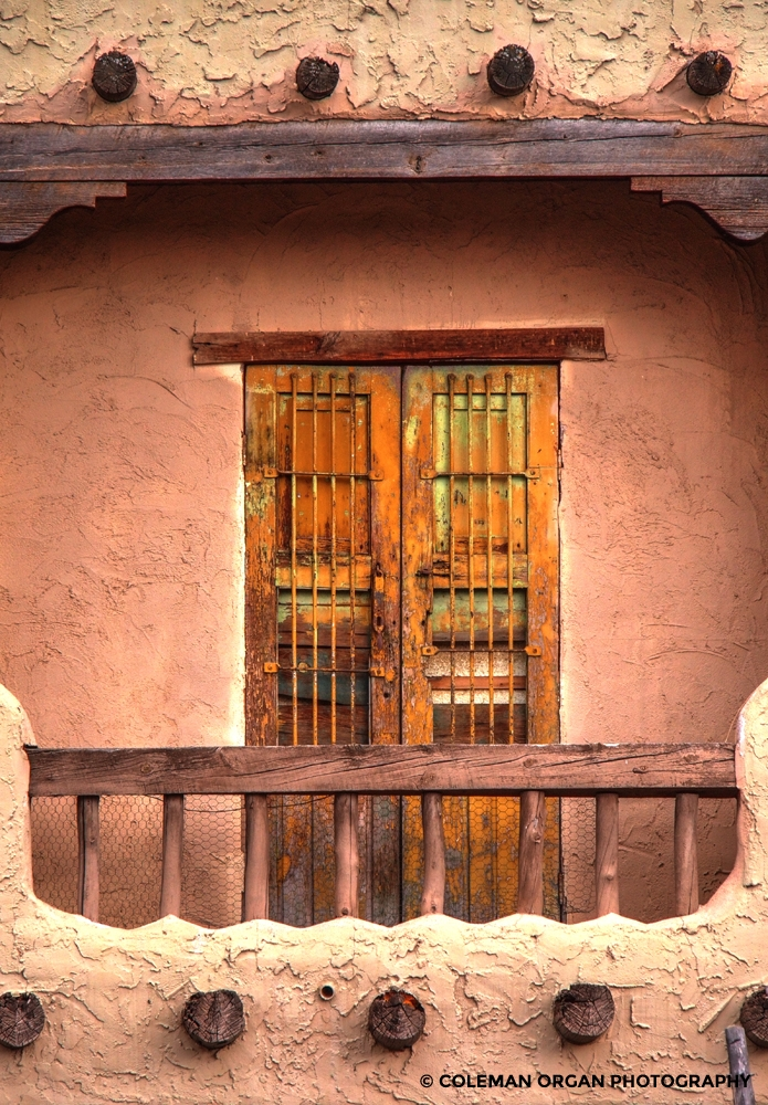 Balcony Doors Sante Fe HDR