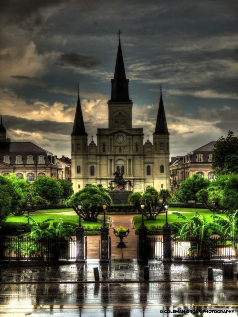 St. Louis Cathedral HDR