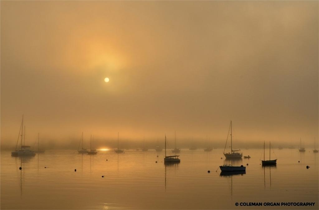 Bellfast Harbor Sunrise, Maine
