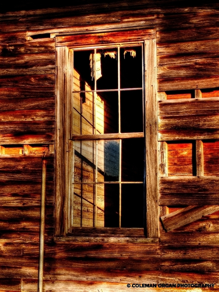 Weathered Window Hwy 308