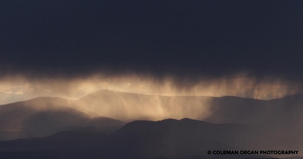 High Road Taos Rainstorm