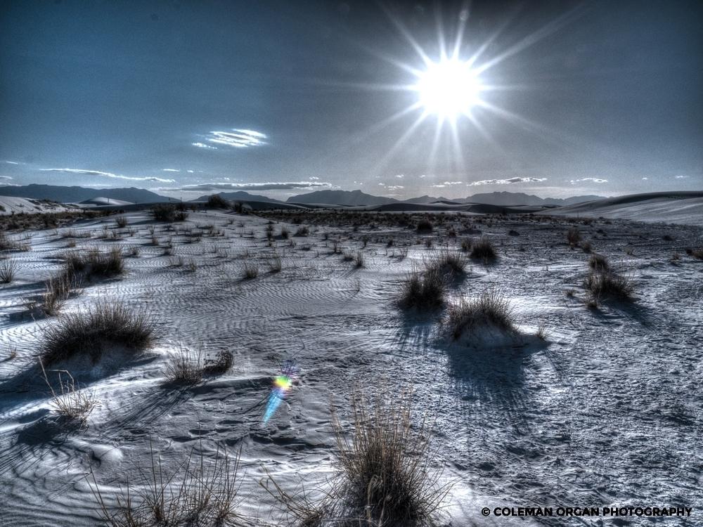 White Sands Sunburst